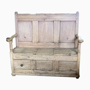 19th-Century Welsh Bench