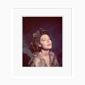 Ava Gardner Framed in White by Baron