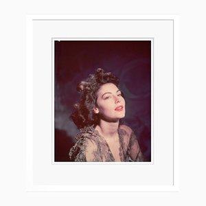 Ava Gardner in Weiß von Baron gestaltet