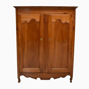 19th Century Cherry Bassett Wardrobe