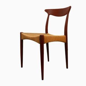 Dänischer Vintage Teak Stuhl von Arne Hovmand-Olsen für Mogens Kold, 1950er