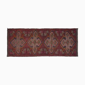 Turkish Jajim Kilim Runner Rug, 1970s