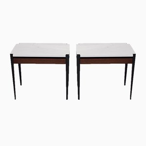 P68 Side Tables by Osvaldo Borsani for Tecno, 1960s, Set of 2