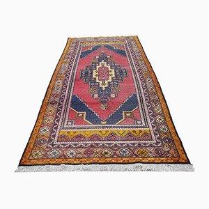 Türkischer Vintage Taspinar Teppich in Rot, 1970er