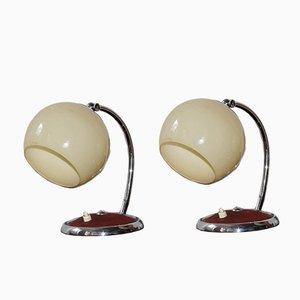 Lampade da tavolo Bauhaus, anni '30, set di 2