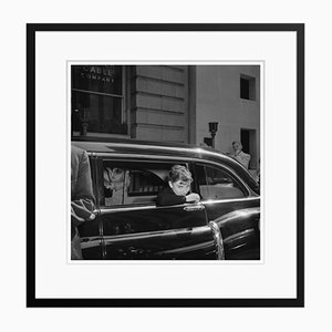 Audrey Hepburn Sabrina Silver Gelatin Resin Print Framed in Black by Hulton Archive