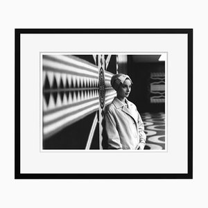 Audrey Hepburn Archival Pigment Print Framed in Black by Alamy Archives