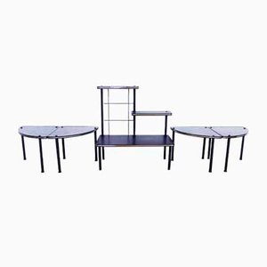 Tables Gigogne & Support pour Plante, 1970s