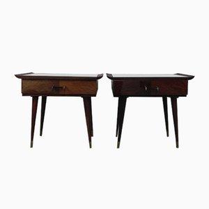 Vintage Bedside Tables, 1960s, Set of 2