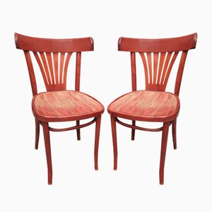 Dining Chairs, 1940s, Set of 12