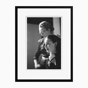 Audrey Hepburn Roman Holiday Archival Pigment Print Framed in Black by Phillip Harrington