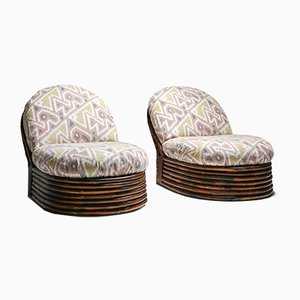 Lounge Chairs by Vivai Del Sud, 1970s, Set of 2