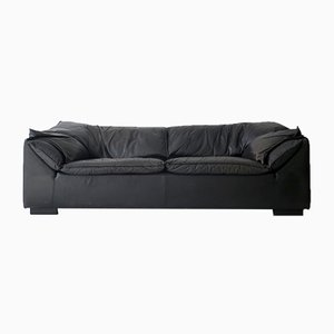 Danish Leather Monza Sofa by Niels Eilersen, 1970s