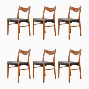 Chaises de Salon par Arne Wahl Iversen, 1960s, Set de 6