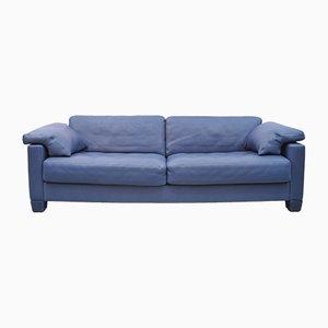 Canapé DS 17 en Cuir Bleu de de Sede, 1990s