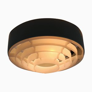 Mid-Century Ceiling Flush Mount Lamp, 1970s