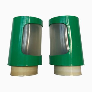 SPace Age Cosmonauts Table Lamps, 1970s, Set of 2