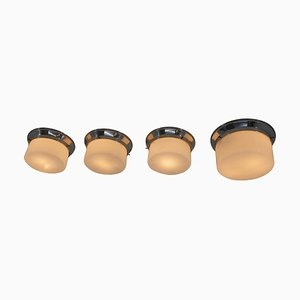 Type 5841 Flush Mounts Attributed to Adolf Loos for IAS, 1929, Set of 4