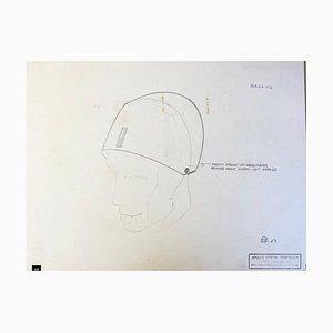 Helmet Project für die NASA von Raymond Loewy, 1969