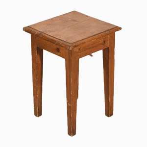 Stool Table in Fir, 1900s