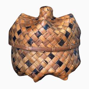 Large Vintage Javanese Basket