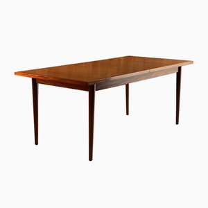 Mid-Century Walnut & Teak Dining Table by Archie Shine for Robert Heritage, 1960s
