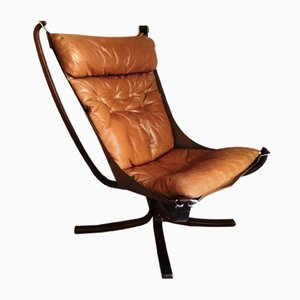 Model Falcon Lounge Chair by Sigurd Resell for Vatne Møbler, 1970s