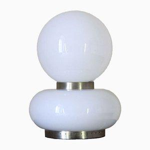 Murano Glas Tischlampe von Carlo Nason für Mazzega, 1970er