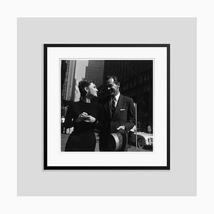 Stars on the Town Archival Pigment Print Framed in Black by Hulton Archive