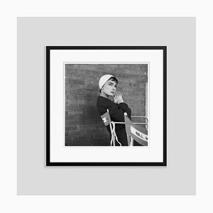 Audrey Silver Gelatin Resin Print Framed in Black by Hulton Archive