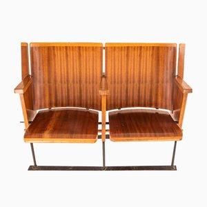 Esszimmerstühle von Dal Vera Conegliano, 1950er, 2er Set