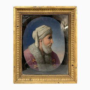 Retrato del sultán Mehmet II, década de 1860