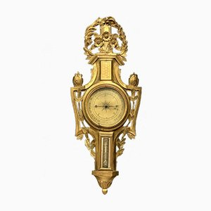Louis XVI Barometer-Thermometer
