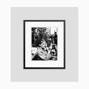 Make Up & Breakfast at Tiffany's Archival Pigment Print Framed in Black by Everett Collection