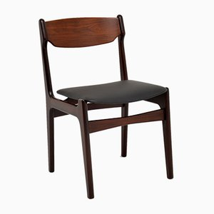 Danish Rosewood & Afromosia Dining Chairs, 1960s, Set of 6
