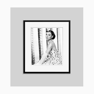 Audrey Funny Face Archival Pigment Print Framed in Black by Everett Collection