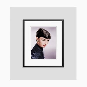 Audrey Hepburn Framed in Black by Bettmann