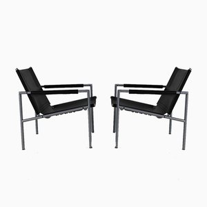 Lounge Chairs by Martin Visser for 't Spectrum, Holland, 1966, Set of 2