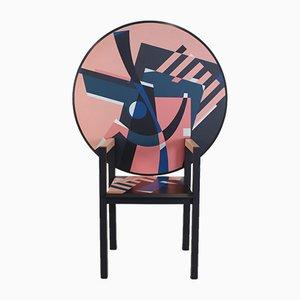 Tavolo e seduta con tavolino di Alessandro Mendini per Zanotta, 1984