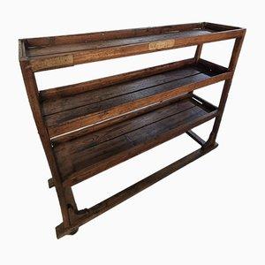 Carrito de madera, años 50