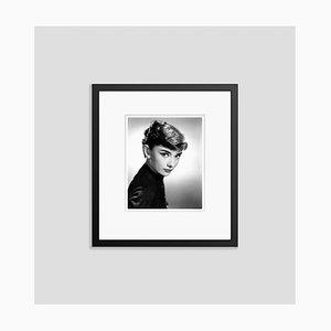 Audrey Hepburn Archival Pigment Print Framed in Black