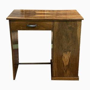 Art Deco Walnut Desk, 1930s