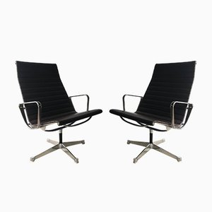 EA 116 Lounge Chairs by Charles & Ray Eames for Herman Miller, 1960s, Set of 2