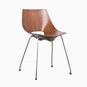 Stuhl von Carlo Ratti für Società Compensati Curvati, 1950er