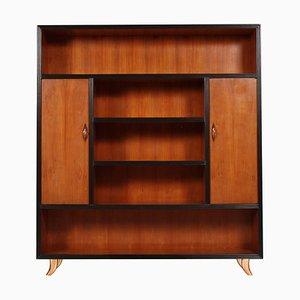Mid-Century Modern Cherry Bookcase Cabinet by Guglielmo Urlich for AR-CA, 1950s