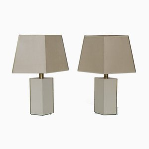 Table Lamps from Le Dauphin, 1970s, Set of 2