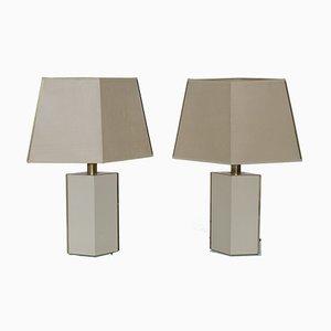 Tischlampen von Le Dauphin, 1970er, 2er Set