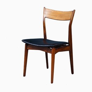 Vintage Danish Rosewood Dining Chairs by H. P. Hansen for Randers Møbelfabrik, 1960s, Set of 6