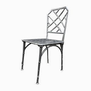 Metal Garden Chairs, 1960s, Set of 12