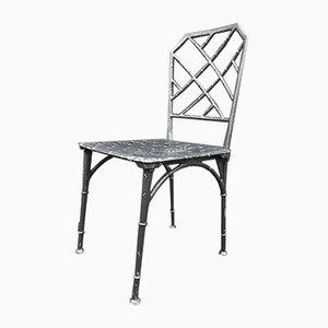 Metall Gartenstühle, 1960er, 12er Set